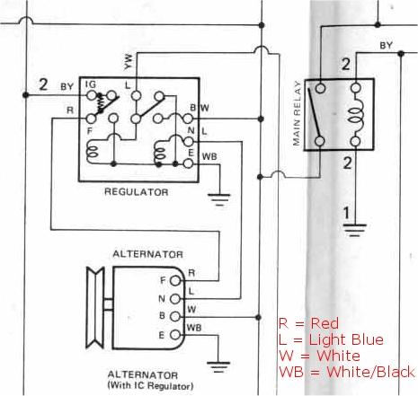 98 civic alternator wiring diagram wiring diagram Denso Starter Diagram honda civic alternator wiring simple wiring diagramalternator wiring car electrical rollaclub com 1998 honda civic alternator