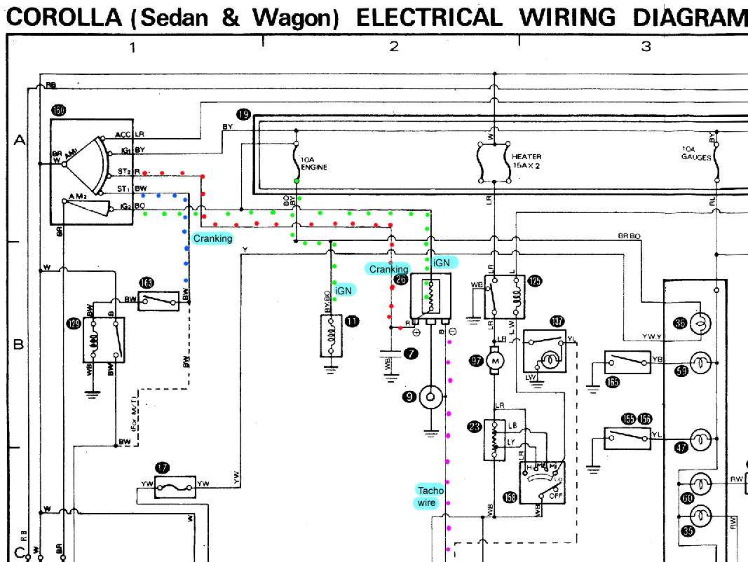 Wiring Diagram Toyota Starlet : Age into ke engine conversions rollaclub