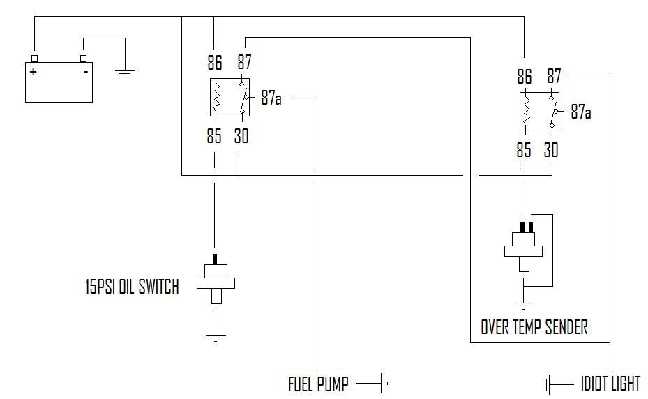 Oil Pressure Fuel Shut Off