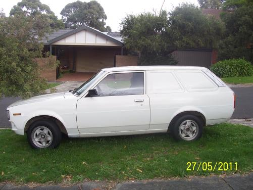 1981 corolla panelvan for sale cars toyota only. Black Bedroom Furniture Sets. Home Design Ideas