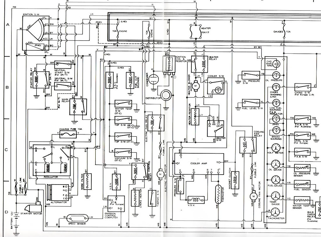 ke70 wiring diagram starter motor - car electrical - rollaclub.com
