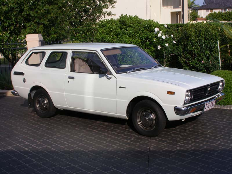 toyota corolla ke36 1976 2 door panelvan for sale for sale cars toyota only. Black Bedroom Furniture Sets. Home Design Ideas