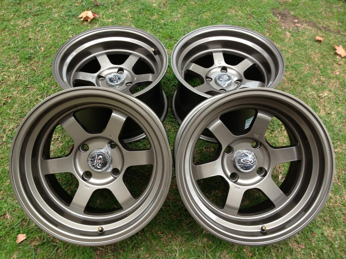 15 inch rota wheels 13 inch work equip 01s for sale car parts. Black Bedroom Furniture Sets. Home Design Ideas