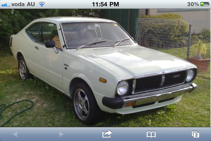 1979 toyota corolla ke55 coupe 2000 ono for sale cars toyota only. Black Bedroom Furniture Sets. Home Design Ideas