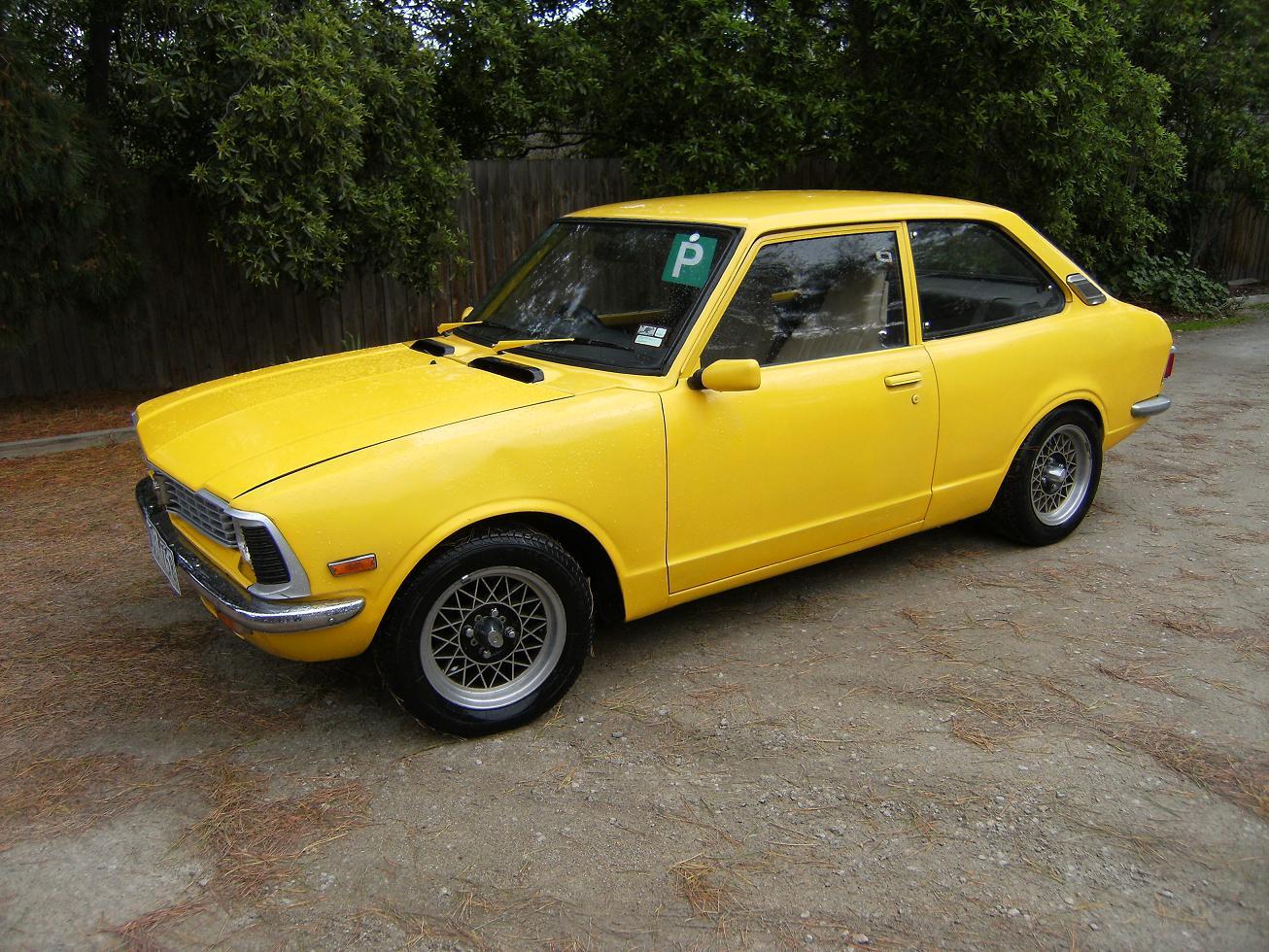 1974 ke20 corolla coupe for sale cars toyota only. Black Bedroom Furniture Sets. Home Design Ideas