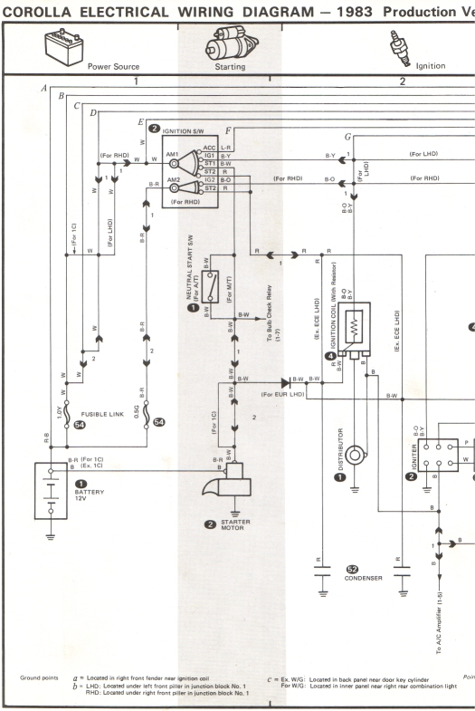 need wiring diagram for ae71 car electrical rollaclub com rh rollaclub com KE70 Corolla AE86 Corolla