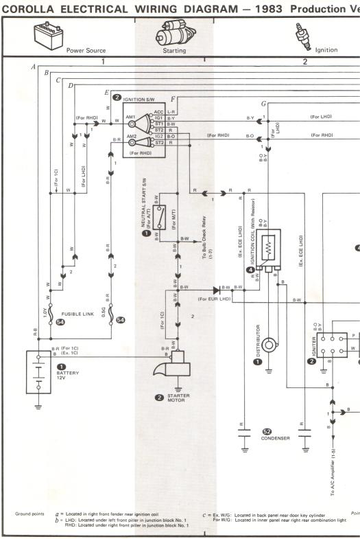 need wiring diagram for ae71 car electrical rollaclub com rh rollaclub com AE71 Corolla Throw Out Bearing TE72 Corolla