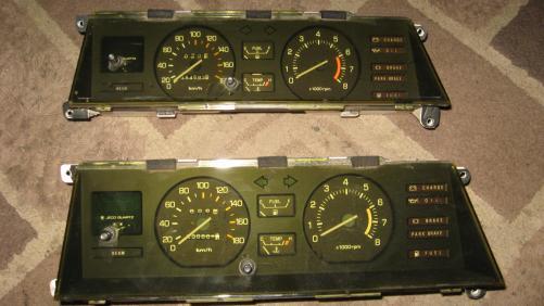 ae71 air-con tacho dashs  uncracked dash pad