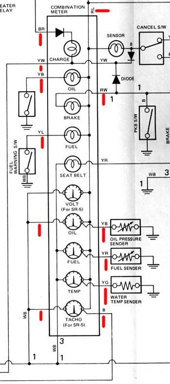 ae70/ke70 instrument cluster wiring help - car electrical ... wiring diagram residential electrical diagrams