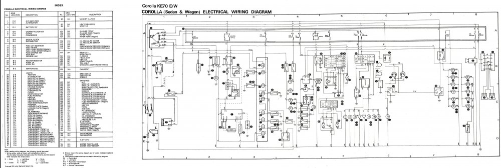 Ke70 Wiring Diagram - Car Electrical